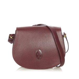 Cartier Must de Cartier Leather Crossbody Bag
