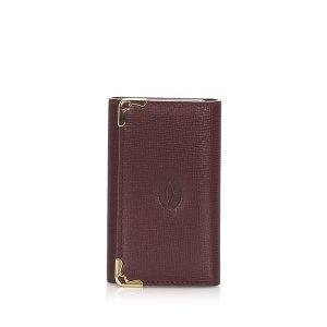 Cartier Must De Cartier Leather Key Holder
