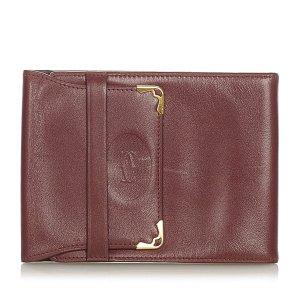 Cartier Borsetta mini bordeaux Pelle