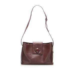 Cartier Must de Cartier Leather Shoulder Bag