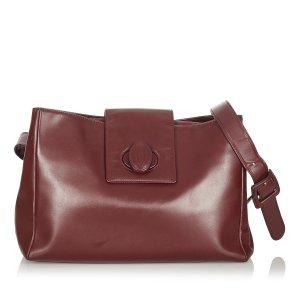 Cartier Must de Cartier Leather Shoulder Bag