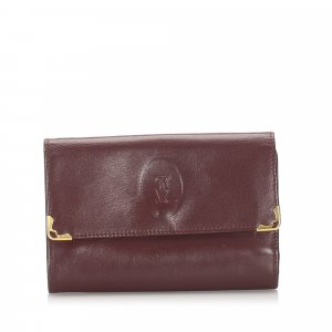 Cartier Must de Cartier Leather Small Wallet