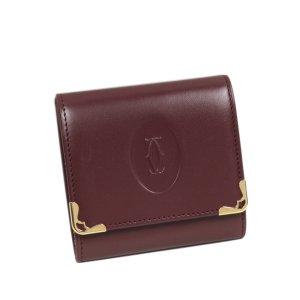 Cartier Must de Cartier Leather Small Wallet