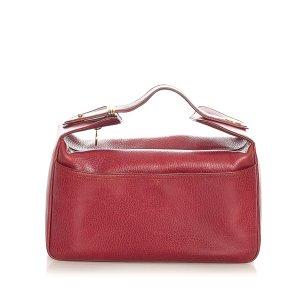 Cartier Make-up Kit bordeaux leather