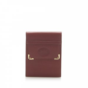 Cartier Wallet bordeaux leather