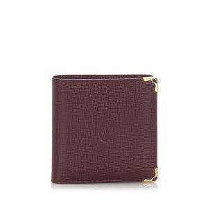 Cartier Must De Cartier Leather Wallet