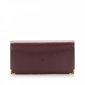 Cartier Must De Cartier Leather Wallet