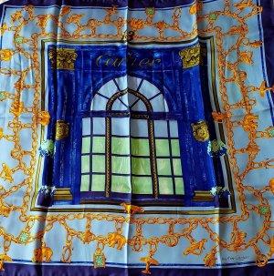 Cartier Écharpe en soie multicolore soie