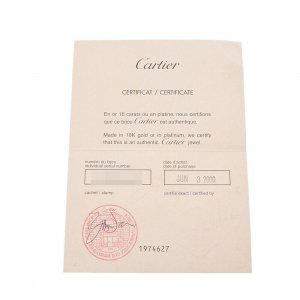 Cartier Boucle d'oreille argenté