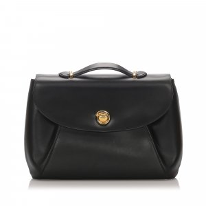 Cartier Panthere Leather Briefcase