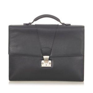 Cartier Business Bag black leather