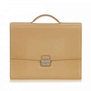 Cartier Business Bag light brown leather