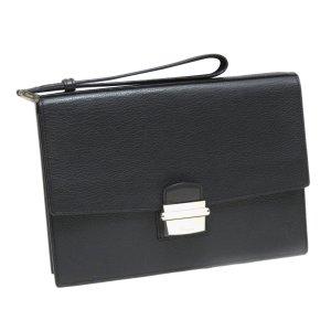 Cartier Pasha Sapphire Leather Clutch Bag