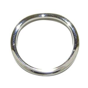 Cartier Bague argenté métal