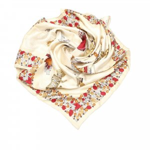 Cartier Sjaal beige Zijde