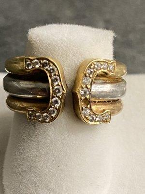 Cartier Ring mit Brillanten  Weiß und Gelbgold