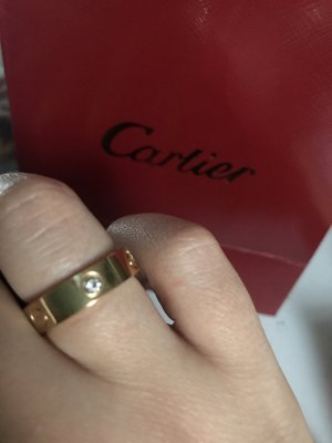 Cartier Ring Size7