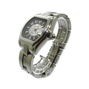 Cartier Reloj color plata acero inoxidable
