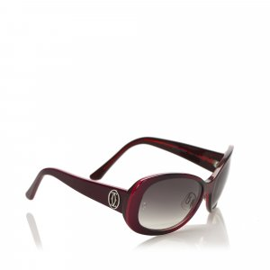 Cartier Round Tinted Sunglasses