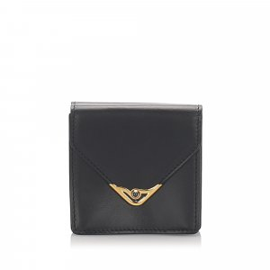 Cartier S De Cartier Leather Coin Pouch