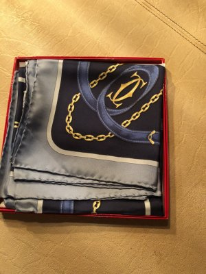 Cartier Silk Cloth gold-colored-blue