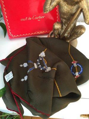 Cartier Panno di seta multicolore Seta