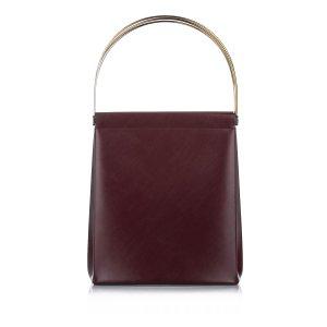 Cartier Trinity Cage Leather Handbag