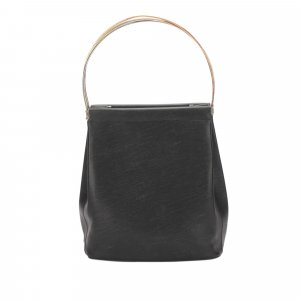 Cartier Handbag black leather