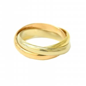 Cartier Pendiente amarillo oro verdadero