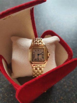 Cartier Uhr in Gelbgold