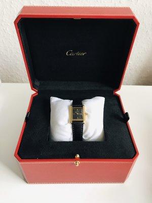Cartier Vermeil Uhr inkl. Cartier Uhrenbox