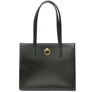Cartier Bolso negro Cuero