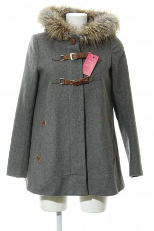 Cartonnier Hooded Coat multicolored street-fashion look