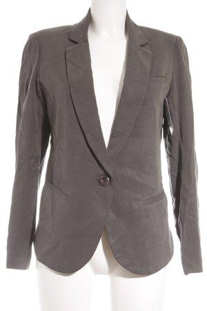 Cartonnier Lange blazer groen-grijs zakelijke stijl
