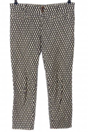 Cartonnier Jersey Pants natural white-black allover print casual look