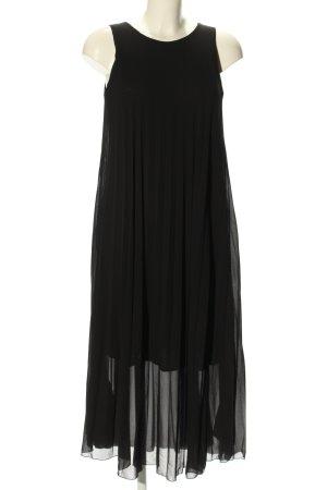 Cartoon A-Linien Kleid schwarz Elegant