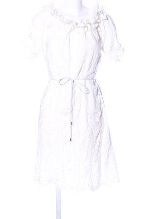 Cartoon Blusenkleid weiß Elegant