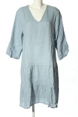 Cartoon Sukienka koszulowa błękitny Len