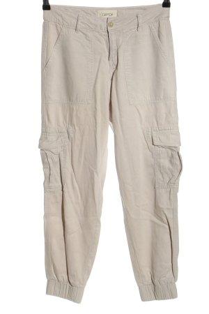 Cartoon Pantalón de camuflaje blanco puro look casual