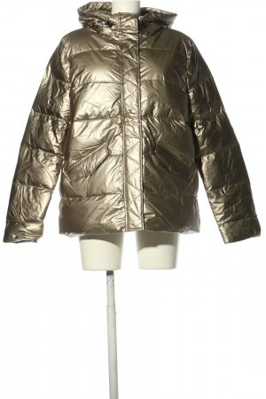 Cartoon Down Jacket gold-colored quilting pattern casual look