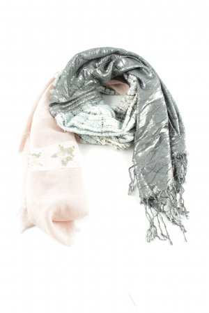 Cartoon Fringed Scarf abstract pattern extravagant style