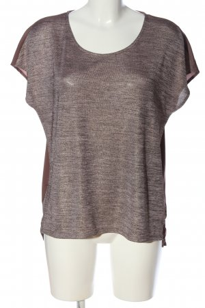 Cartoon Blouse brillante bronze-brun style décontracté