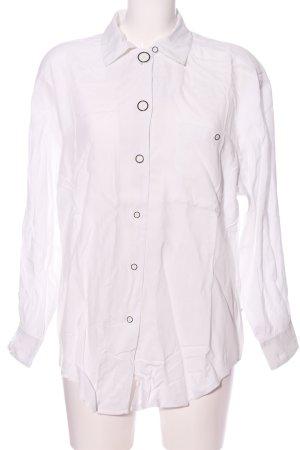 Cartoon Shirt Blouse white business style