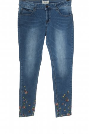 Cartoon Low Rise Jeans blue casual look