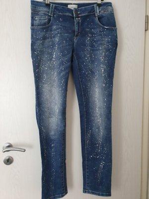 Cartoon Boyfriend jeans blauw