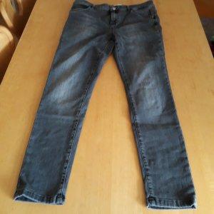 Cartoon Slim Jeans silver-colored cotton