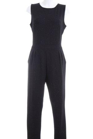 Cartoon Jumpsuit schwarz-silberfarben Elegant