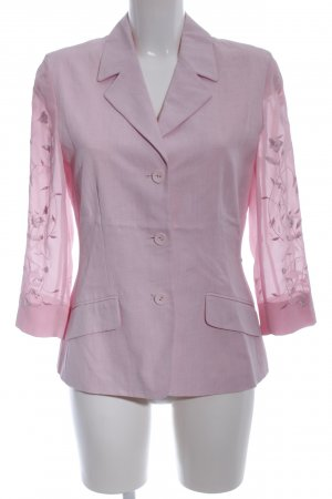 Cartoon Kurz-Blazer pink Casual-Look