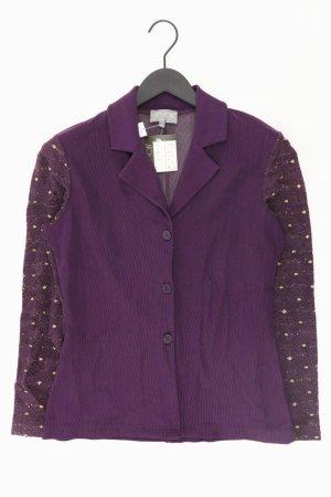 Cartoon Long Sleeve Blouse lilac-mauve-purple-dark violet viscose