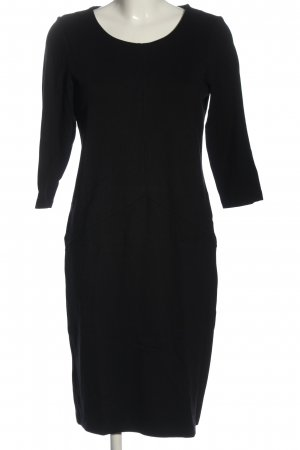 Cartoon Longsleeve Dress black casual look